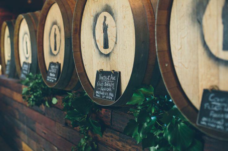Aging Beer in Barrels