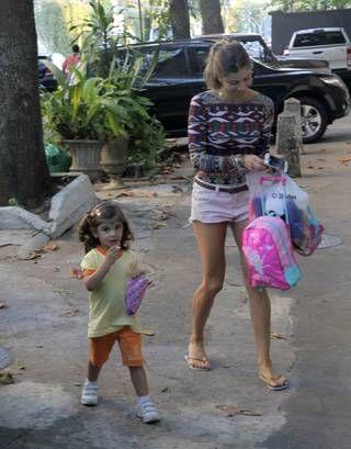 Grazi Massafera e a filha, Sofia (Delson Silva/AgNews)