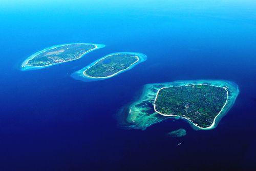 Explore the three beautiful islands of Gili Islands, Indonesia