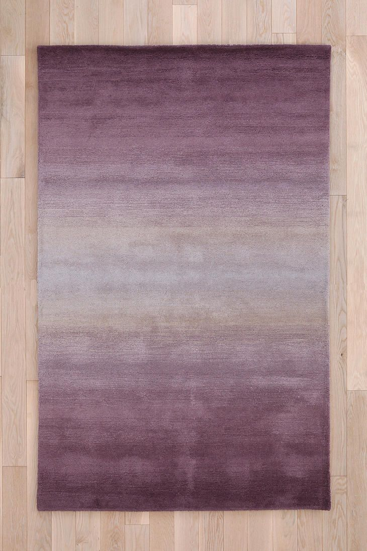 Tufted Fade Out Rug. Urban Outfitters