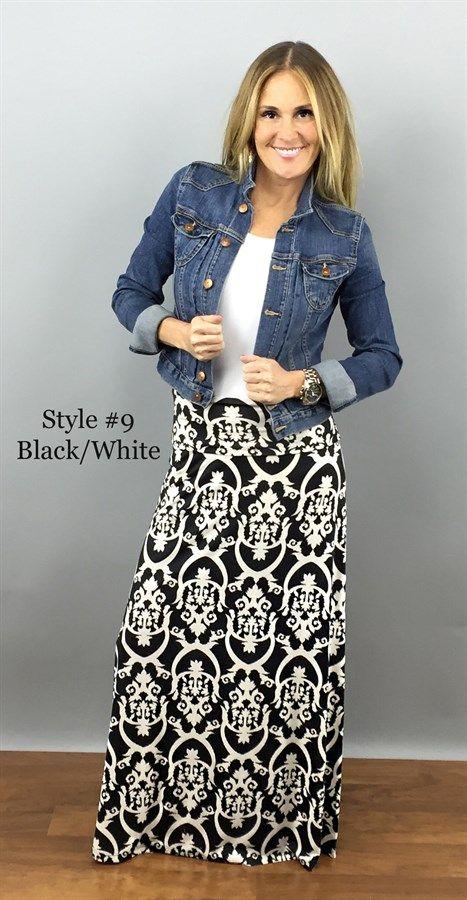 Maxi Skirts - Plus Sizing Available   Jane