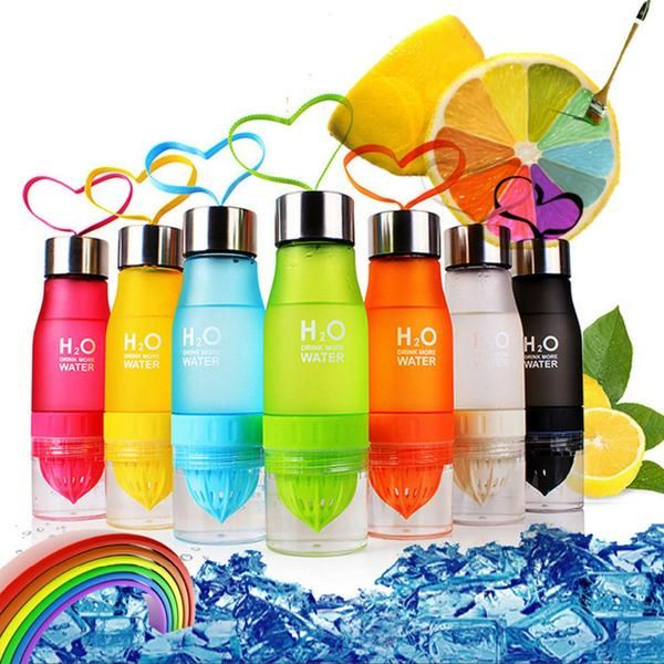 Fruit/Tea Infuser Water Bottle Capacity: 650 ml  Food-grade plastic, stainless steel cap, and nylon cord Matte surface to prevent slipping out of hand Vibrant colors and elegant design Powerful combo of utility and style  No bad ingredients or side-effects  We know the temptation of picking up that sugary drink. That's why we bring you a smarter alternative - no more side-effects, but a flavorful, refreshing beverage. Easy to clean  The removable fruit squeezer allows for easy clea...