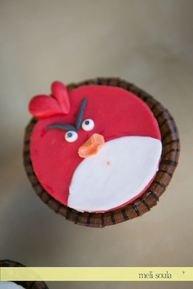 #Angrybirds# Birthday #Cupcakes