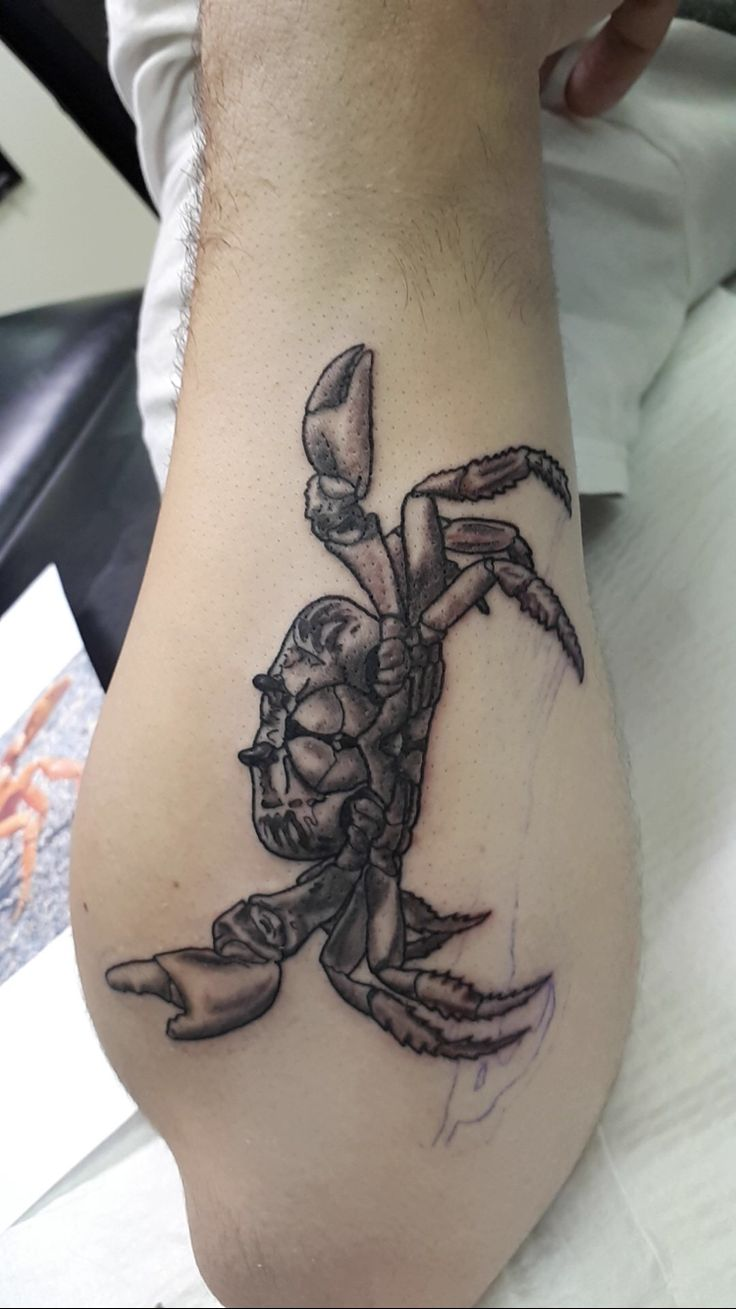Crab - Wade Shaw - River City Ink and Steel - Winnipeg MB