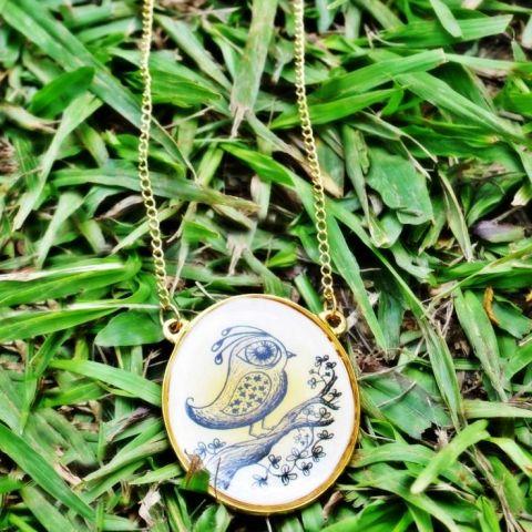 Novedades en Discrepante!! consigue este lindo collar en www.discrepante.com/melodiacerezada