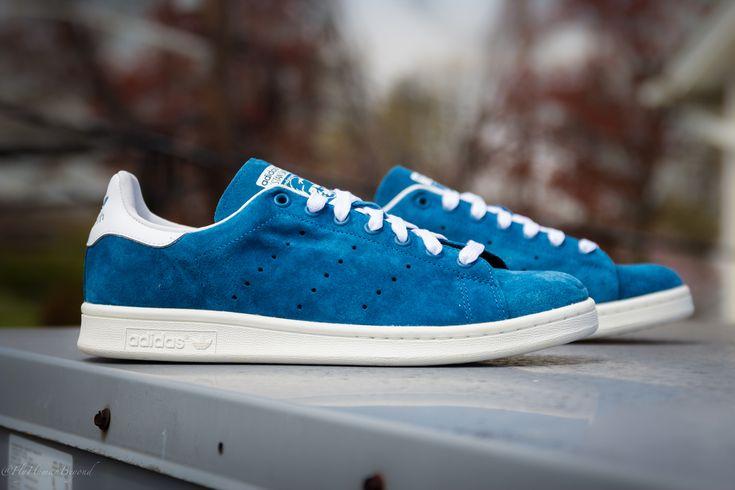 """Blue Suede"" adidas Originals Stan Smith #adidas #adidasoriginals"