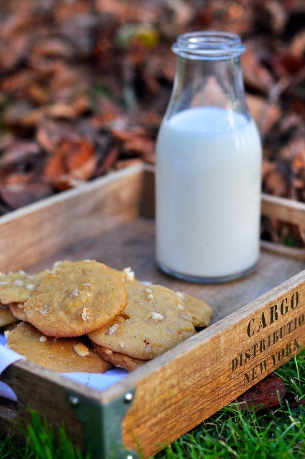 Ciasteczka z Dynią i białą czekoladą | Make Life Easier