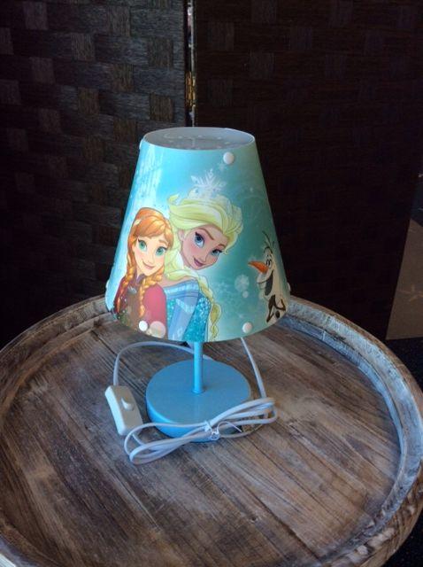 Frozen Desk Lamp