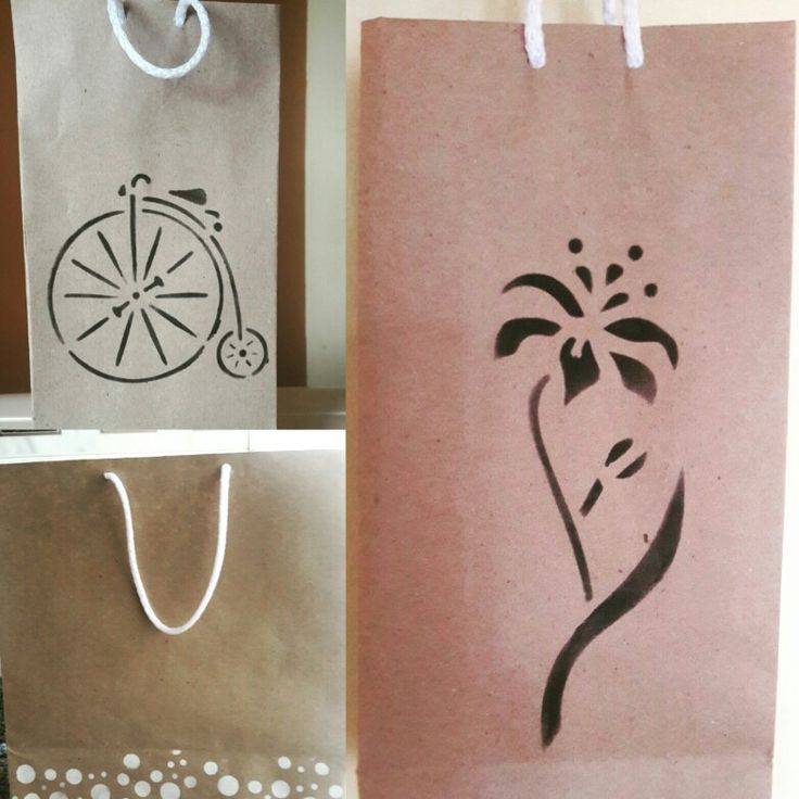 Bolsas en papel craft