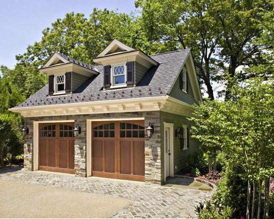 Detached Garage Plans With Apartment: 31 Best Driveway Design Images On Pinterest