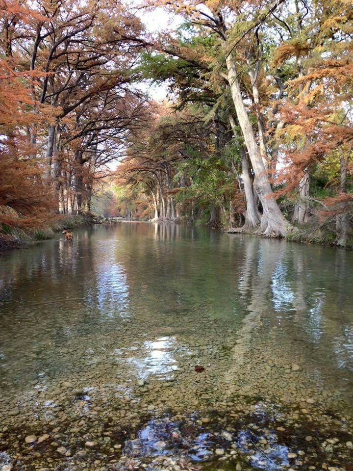 Near Bandera on the Medina River in Texas!!