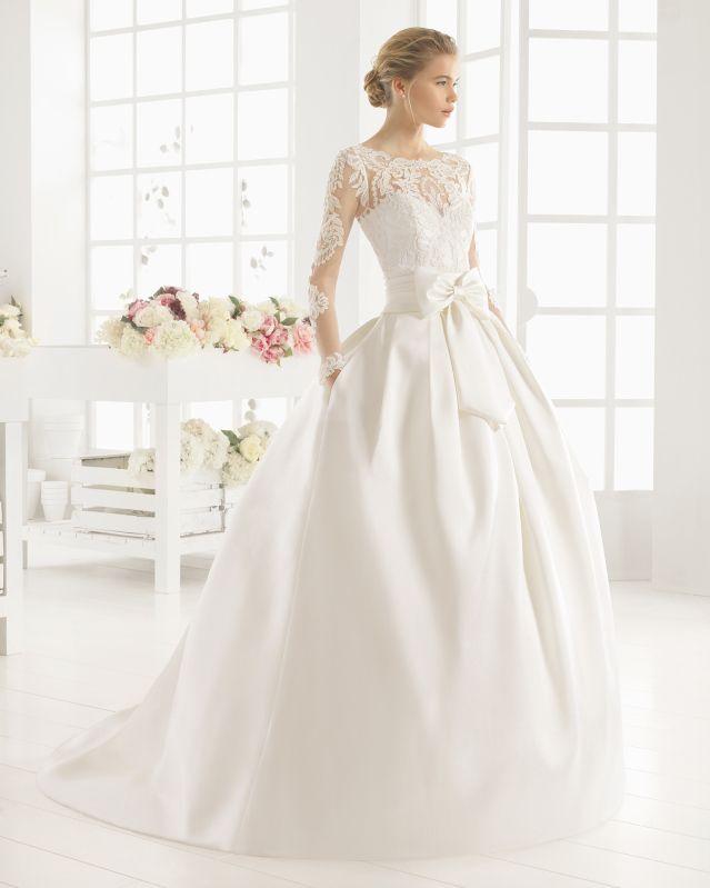 MIDAS vestido de novia de Aire Barcelona 2016