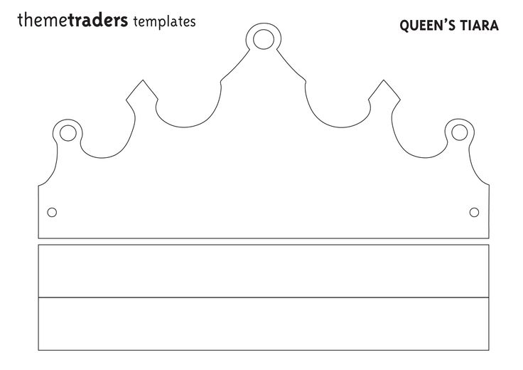 Queens tiara 3508 2480 from themetraders for Tiara template printable free