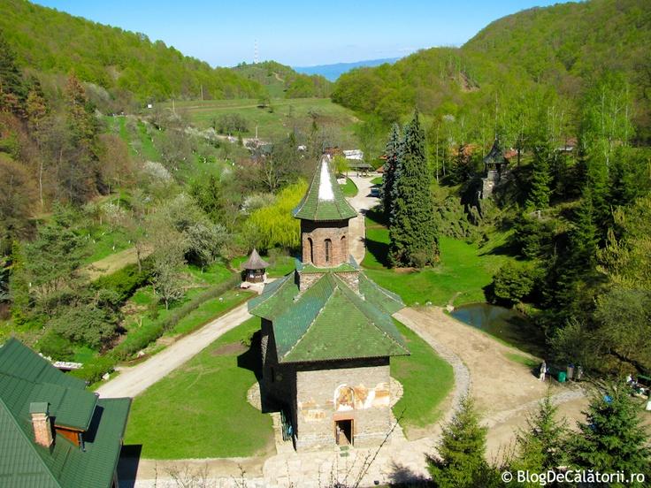 Manastirea Prislop. Prislop monastery.