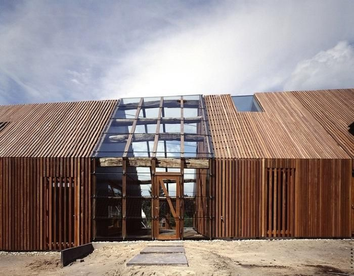A Livestock Barn Transformed: Farms House, Modern Families, Search, Wooden Wall, Architecture, Barns Conver, Woods Wall, Woods Design, Old Barns