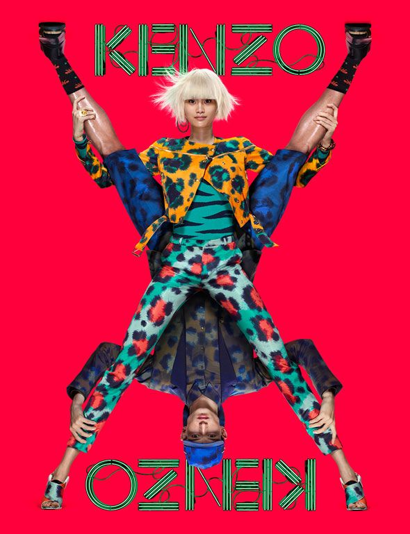 Kenzo Paris Printemps Eté 2013 Campagne Jean Paul Goude