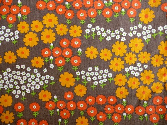 Scandinavian retro fabric