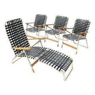 Mid-Century Modern Telescope Furniture - Set of 4