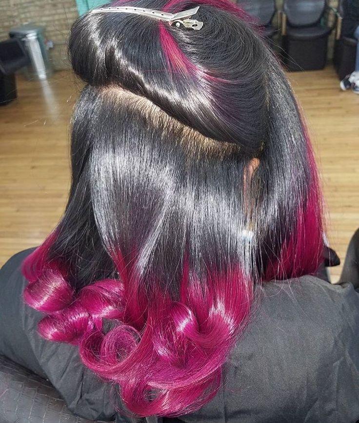 silk press hair ideas