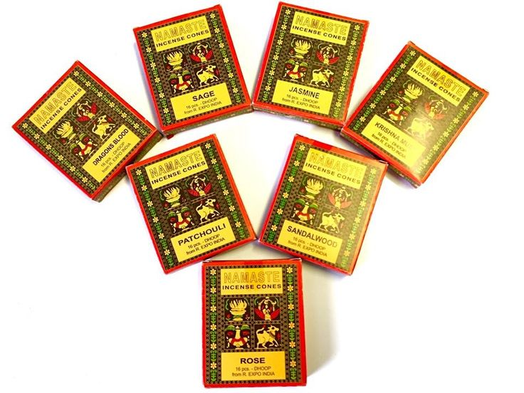 These high quality #incense #cones made in India are just divine! The fragrance is so pure and magical, like being inside an Indian temple. http://www.thebluebudha.com.au/search/1/?query=namaste&records=6