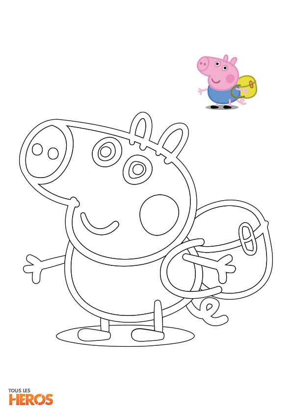 206 best images about coloriages de tlh on pinterest - Coloriages peppa pig ...