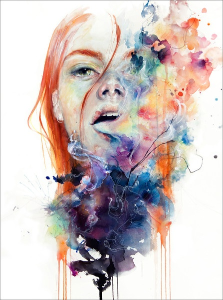 Agnes Cecile- honestly, look at this, look at it, describe it in any other words than amazing...you cant can you?..