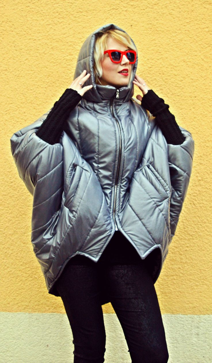 Just launched! Extravagant Cocoon Jacket / Winter Short Jacket / Cocoon Padded Jacket with Acrylic Sleeves TC74 https://www.etsy.com/listing/477938406/extravagant-cocoon-jacket-winter-short?utm_campaign=crowdfire&utm_content=crowdfire&utm_medium=social&utm_source=pinterest