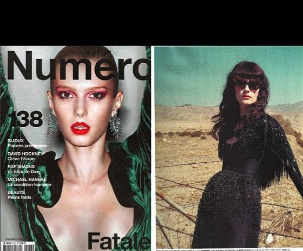 French Numéro November issue
