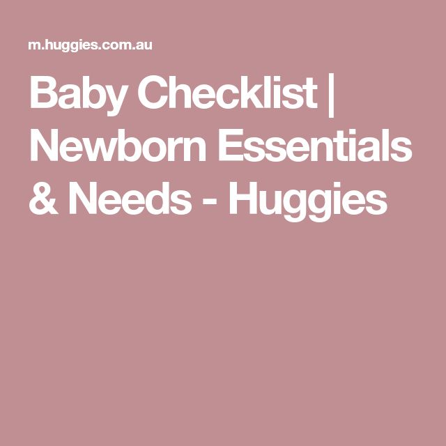 The 25+ best Baby checklist newborn ideas on Pinterest Baby list - newborn checklist