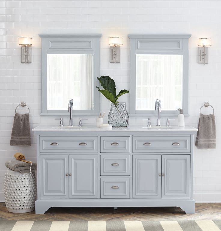 Simply Perfect For A Bathroom. #organizewithhdc