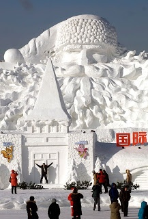 HARBIN INTERNATIONAL ICE AND SNOW FESTIVAL IN CHINA