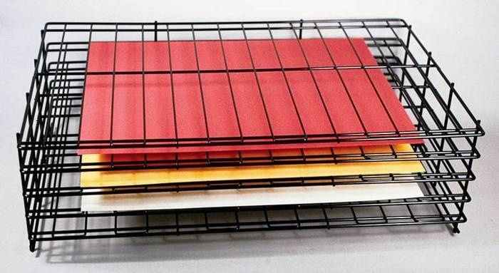 Sax Paper Storage - Drying Rack - 4 Shelves