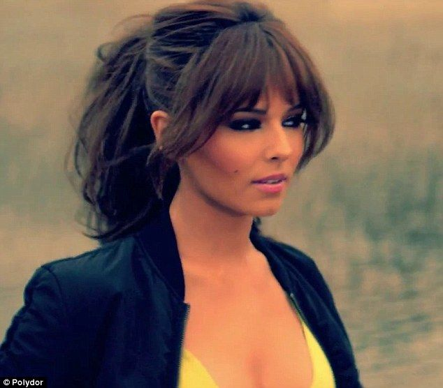 What a tease! The Girls Aloud star has given a glimpse of the promo a day before its full release