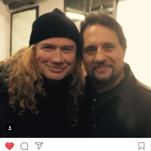 Please hire David Davidson and Dave Lombardo and rename yourselves MegaDAVE also not like there's another Dave in that band... #megadeth #slayer #davemustaine #davelombardo #thrashmetal #megadave