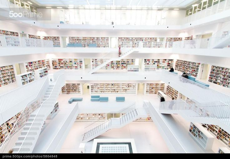 Stuttgarts New Public Library on 500px Prime
