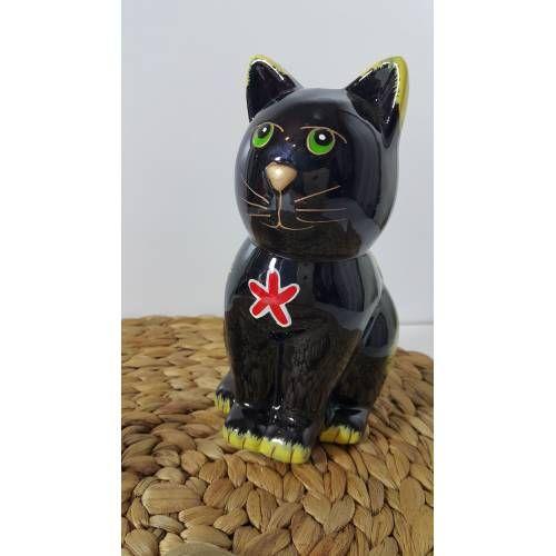 Kedi Figürlü Seramik Kumbara-büyük Boy GittiGidiyor'da 271858630