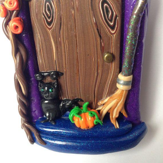 Halloween fata porta. Porta spaventoso Pixie di SerenissimaJewels