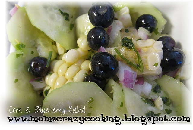 Corn and Blueberry Salad | fruits,veggies&sides | Pinterest