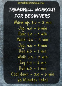Treadmill Workout For Beginners