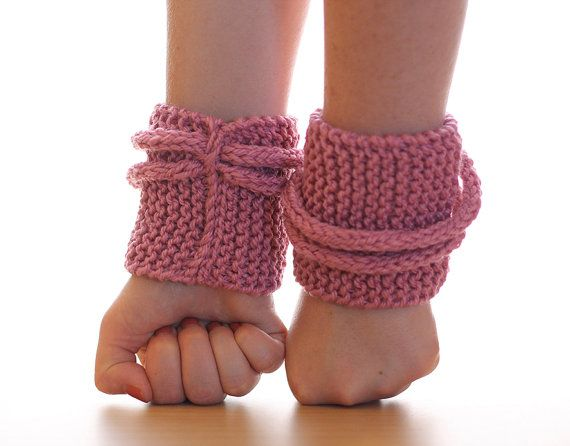 Pink Loop knitted cuffs  wrist warmers by EggCups on Etsy, $14.50 - acrylic not wool :)