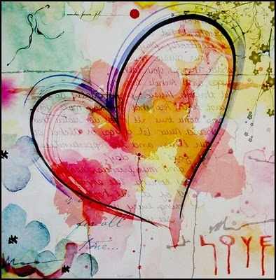 Art journal inspiration. Love comes to those who still hope