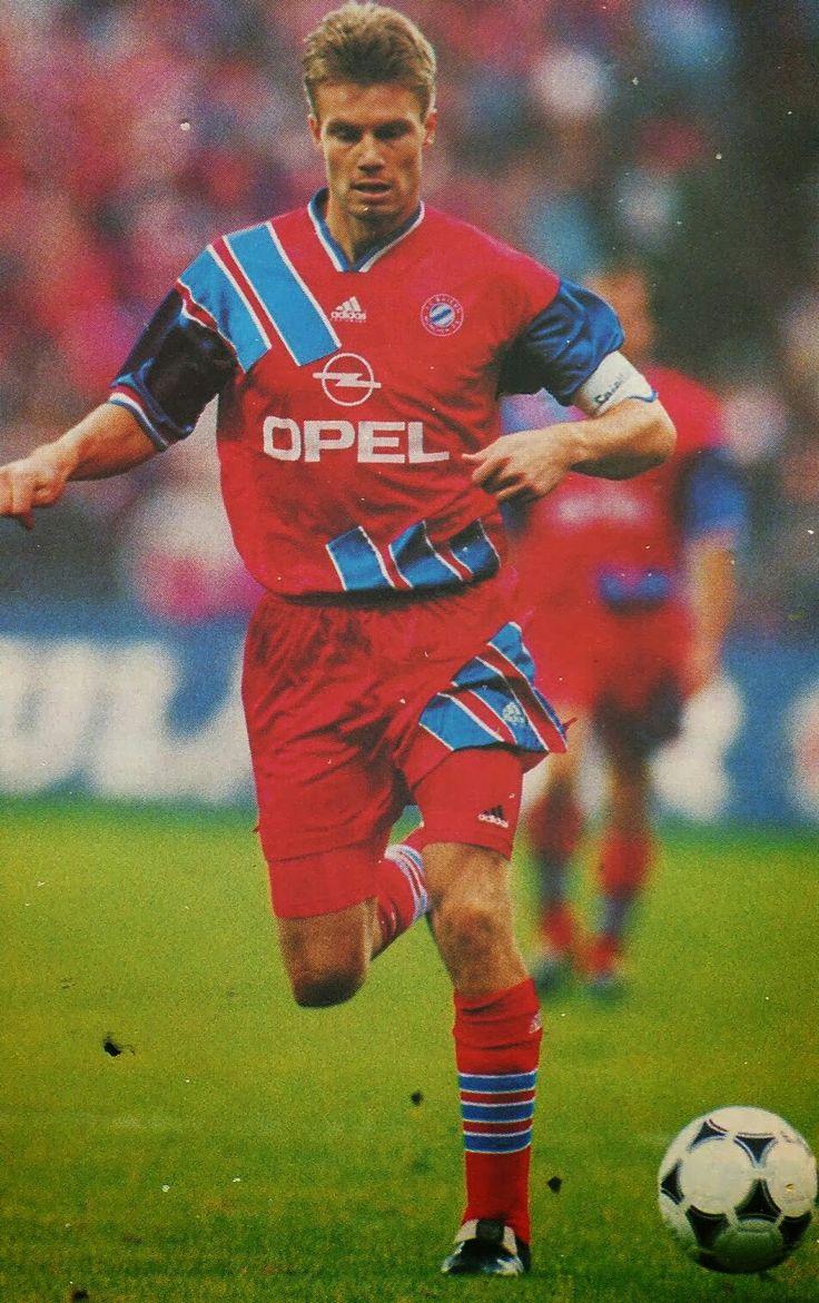 Thomas Helmer of Bayern Munich in 1993.