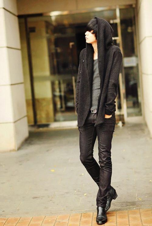 It's so Japanese...   Raddest Men's Fashion Looks On The Internet: http://www.raddestlooks.org                                                                                                                                                      More