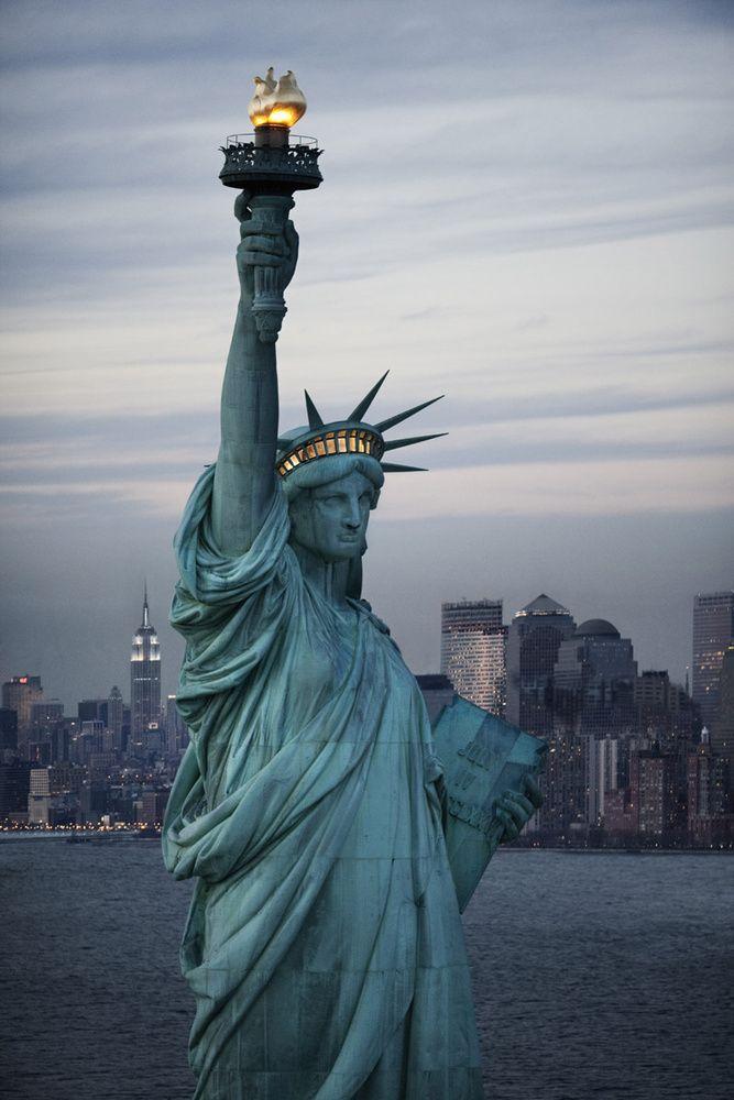 La estatua de la Libertad y Gustave Eiffel