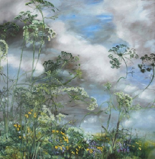 CLAIRE BASLER-I love her work; so light and delicate. I feel like you can enter into her paintings-you are drawn in by the light and scent (imagined so easily with her talented touch)