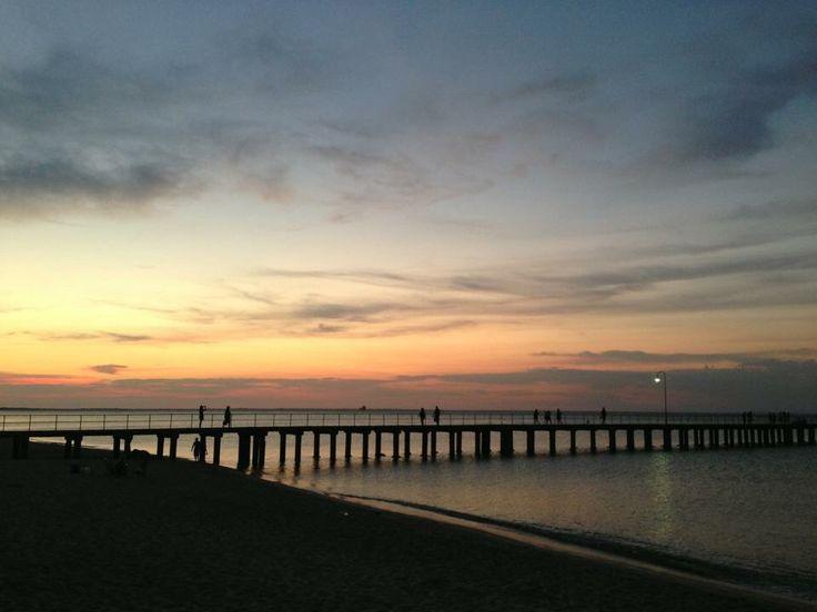 Sunset at Dromana
