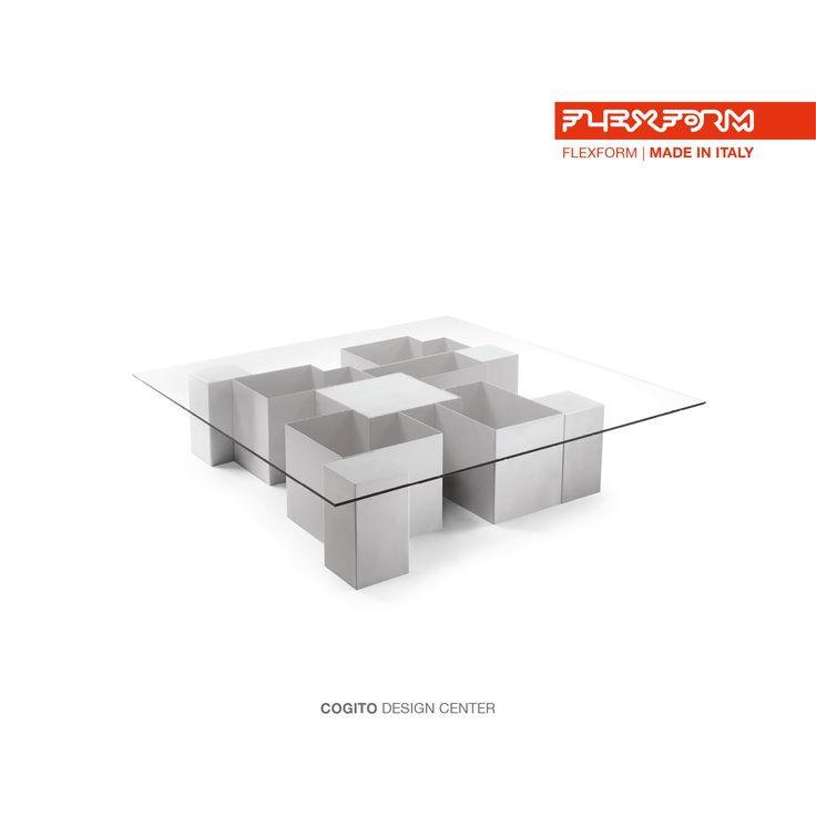 #FLEXFORM COGITO small table #design Center FLEXFORM