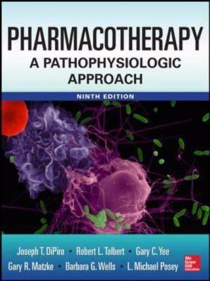 """Pharmacotherapy : a pathophysiologic approach : 9th edition"" / [edited by:] Joseph T. DiPiro ... [et al.] New York, NY. : McGraw-Hill Education, 2014. Matèries : Quimioteràpia; Fisiologia patològica; Terapèutica; Farmacologia. #nabibbell"