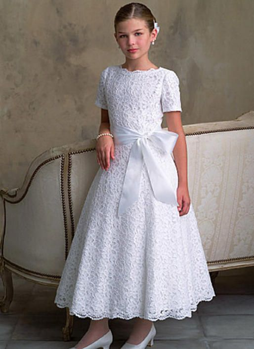 17 Best First Communion Dress Patterns Images On Pinterest
