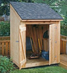 Free Shed Plans | 8x12 shed, 8x10 shed, lean-to tool shed & firewood shed - Jigs - Fine Woodworking